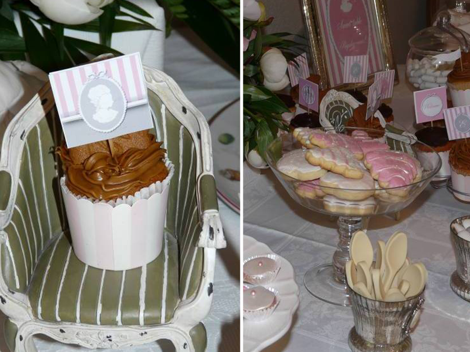 bisucuits et cupcakes decoration