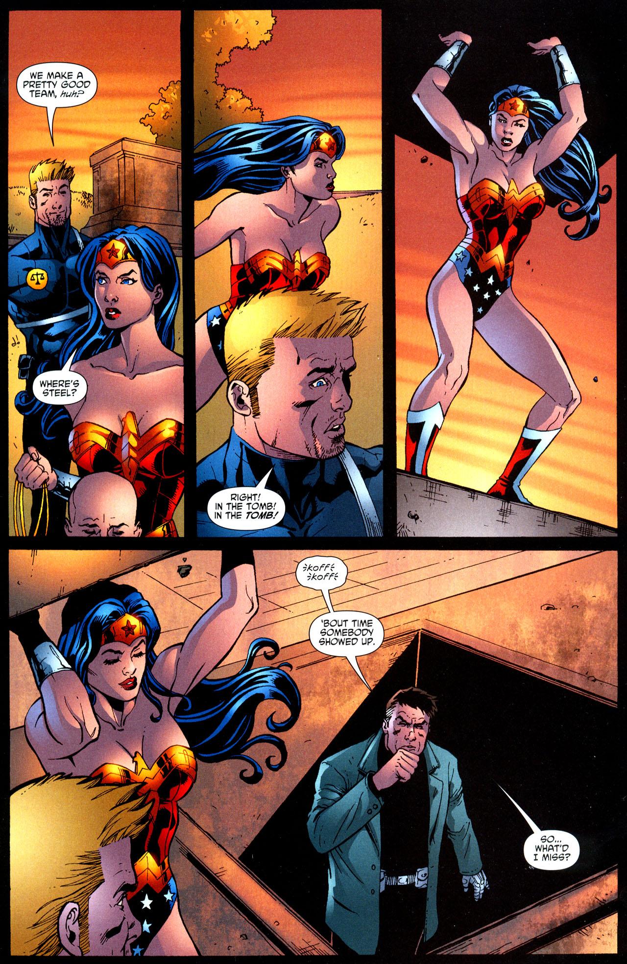 Read online Wonder Woman (2006) comic -  Issue #12 - 20