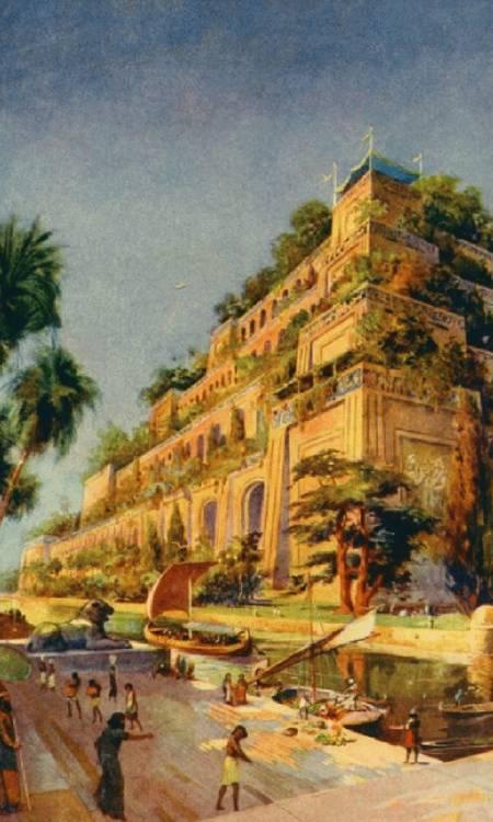 Imagenes Espectaculares Jardines Colgantes De Babilonia