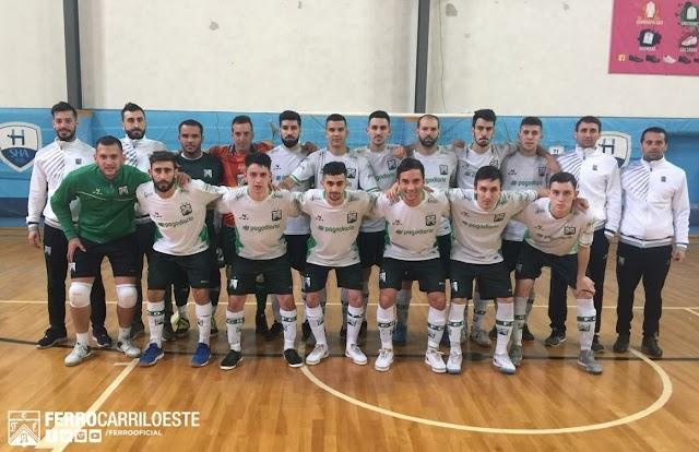 Ferro goleó a Hebraica, rival en cuartos de final