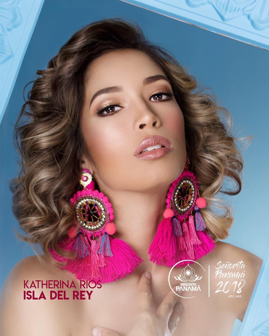 señorita miss colombia 2018 candidates candidatas contestants delegates Miss Isla del Rey Katherina Rios