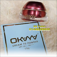 okaya cream to powder
