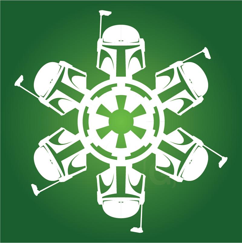 new bobba fett snowflake