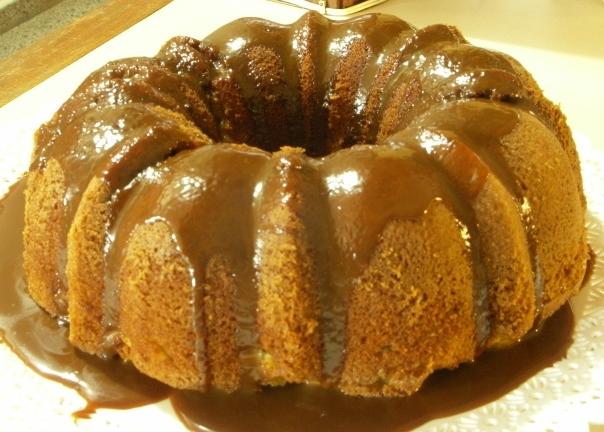 Torta de manzanas y dulce de leche / Dulce de leche apple cake