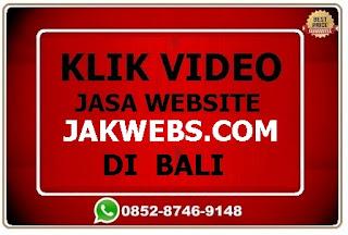jasa website design di bali