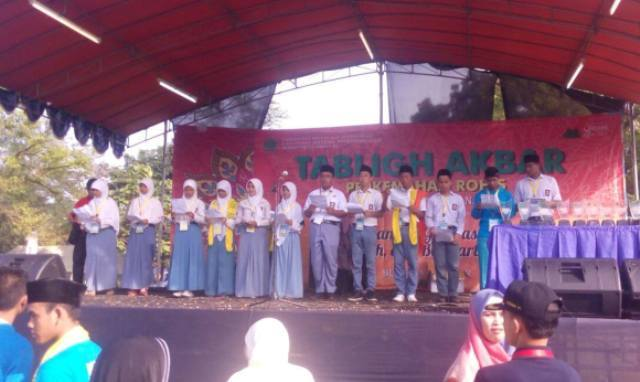 Mantab! Ikrar Anak-anak Rohis ini Suarakan Kecintaan Pada NKRI dan Penghormatan Pada Kebhinekaan