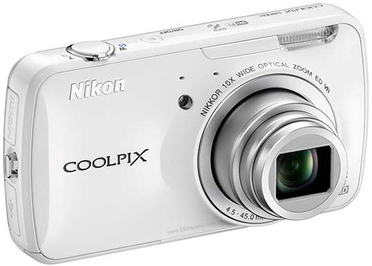 main features of nikon coolpix s800c