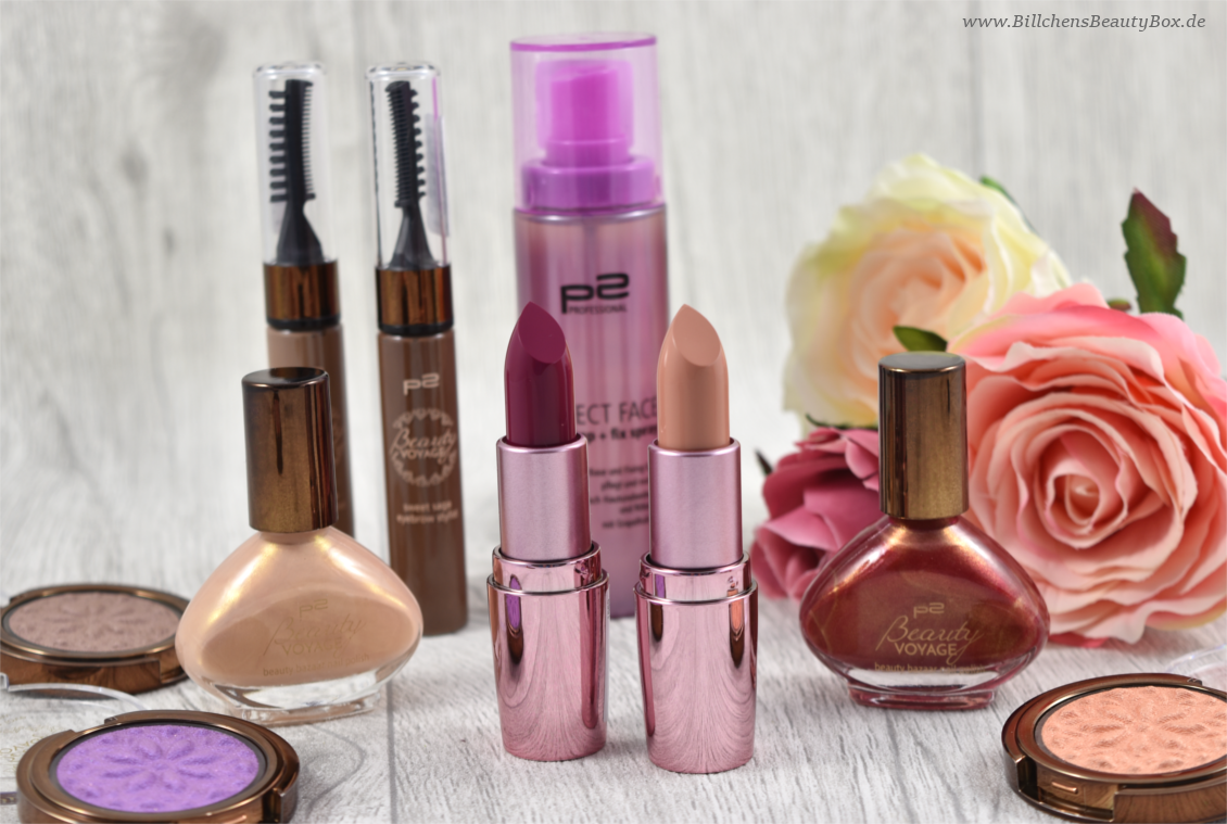 p2 cosmetics - Beauty VOYAGE Limited Edition