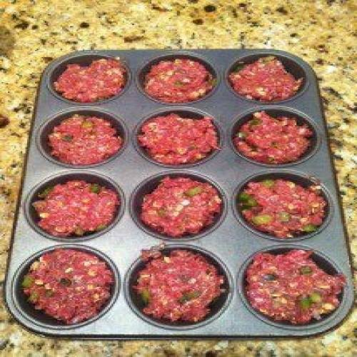 Recipes Cooking Mini Meatloaf Muffin Pan