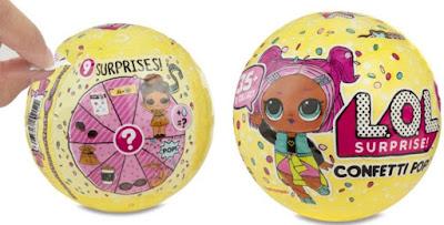 Коллекция кукол в шарах LOL Surprise 3 под названием Confetti Pop