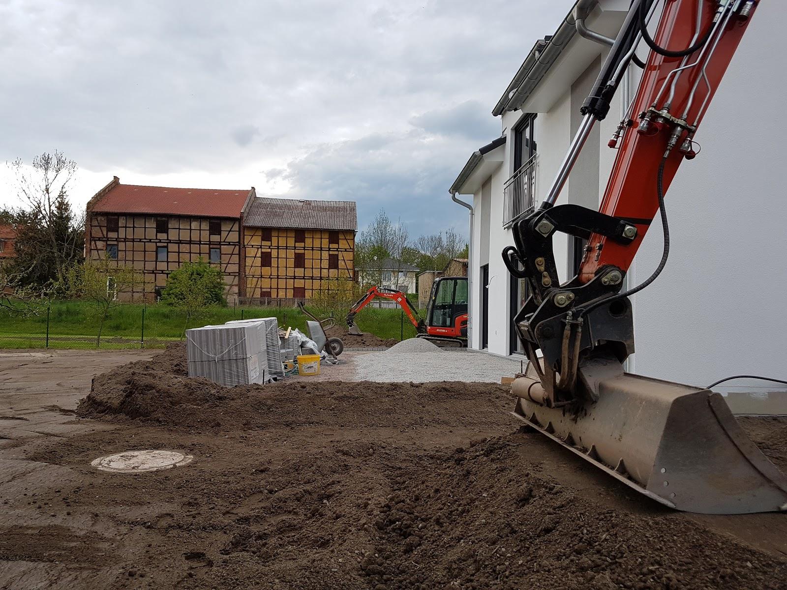 unsere erlebnisse beim hausbau: außenanlagen teil 3