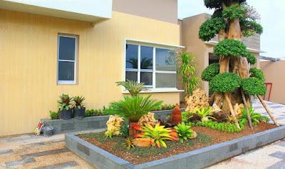 Tukang Desain dan pembuatan Taman Surabaya Barat