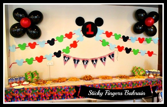 Whats A Better Theme For 1 Year Old Bday Party Than Mickey Mouse Clubhouse Its Cute And Adorable Just Like Little Celebrant