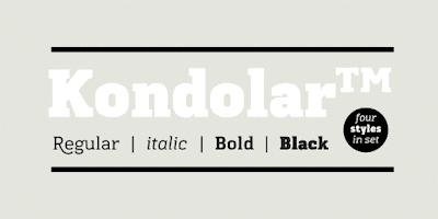 download kondolar font