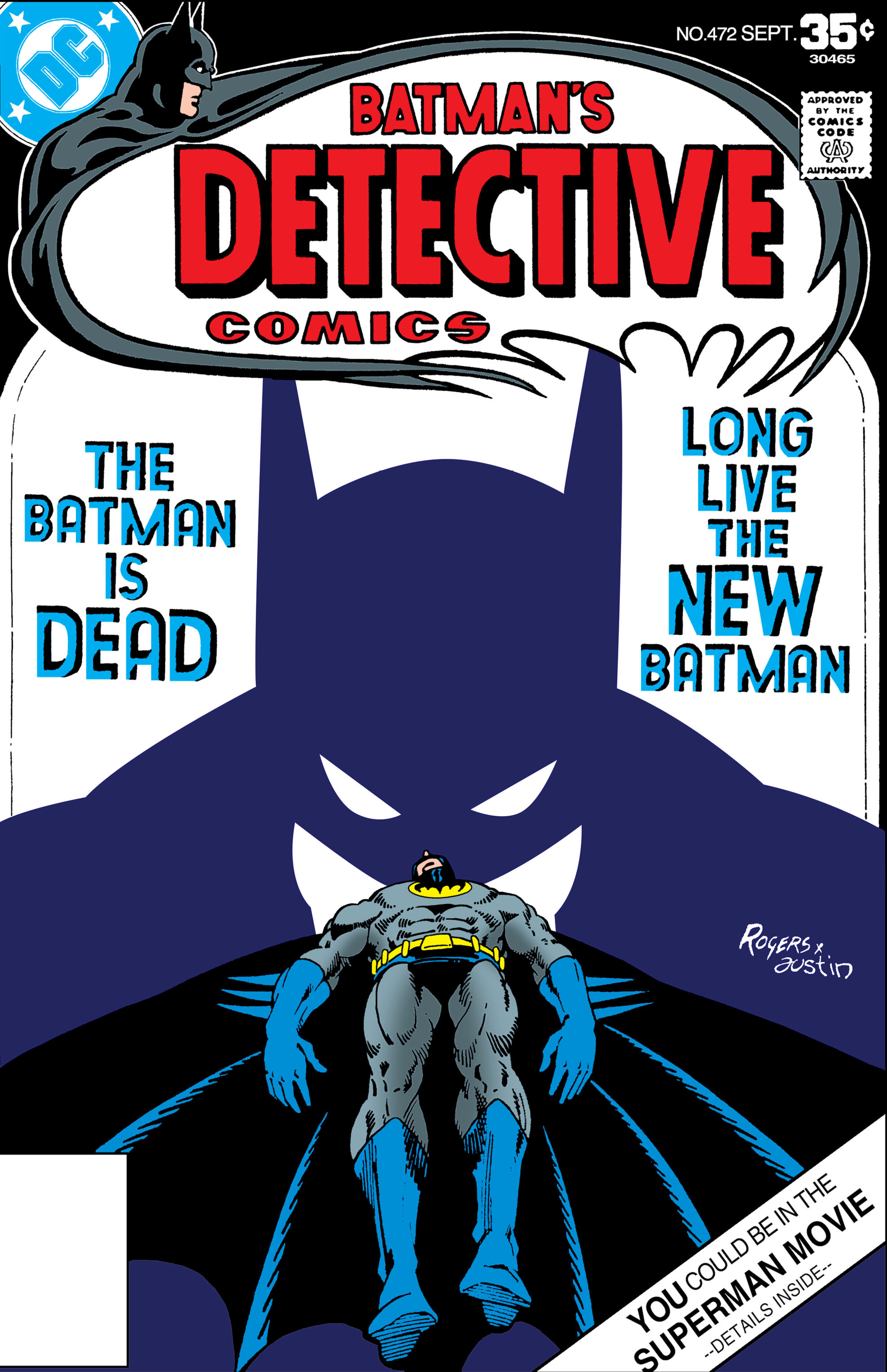 Detective Comics (1937) 472 Page 0