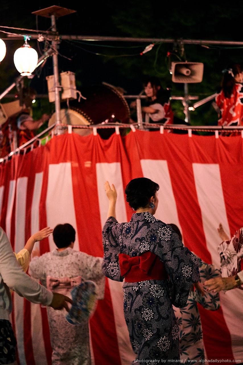 Bon-Odori Festival Dance of Ota Matsuri, Aichi, Japan