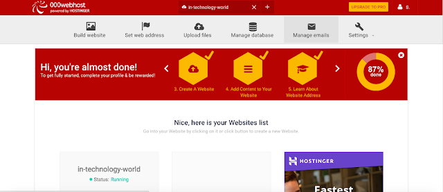000webhost free web hosting cpanel