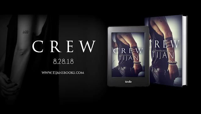 CREW by Tijan @TijansBooks @ninabocci #CoverReveal #Preorder #TheUnratedBookshelf