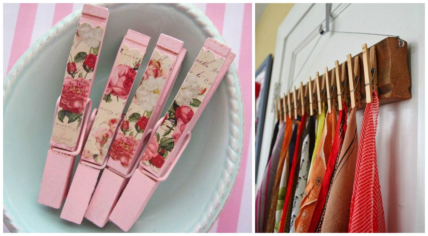 tutos: Manualidades con pinzas de ropa