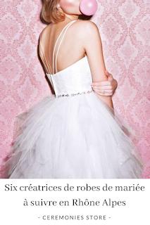 Créatrices de robes de mariée en région rhone alpes blog mariage www.unjourmonprinceviendra26.com