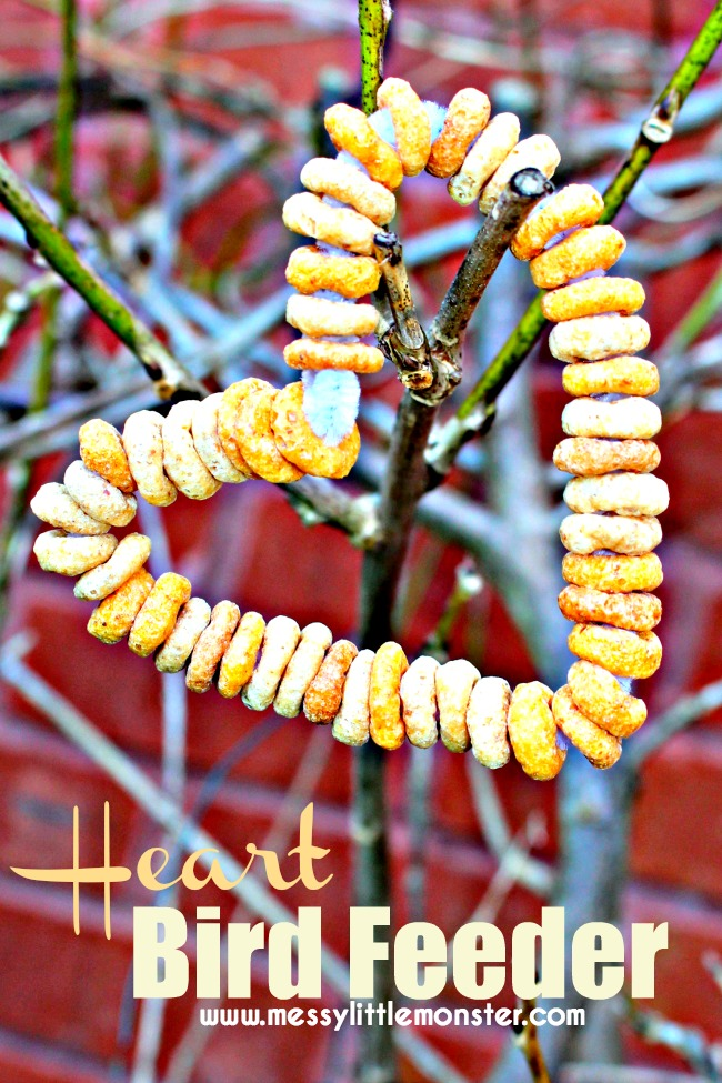 Easy Cheerios Bird Feeders For Toddlers And Preschoolers. A Fine Motor  Skills Activity For Young