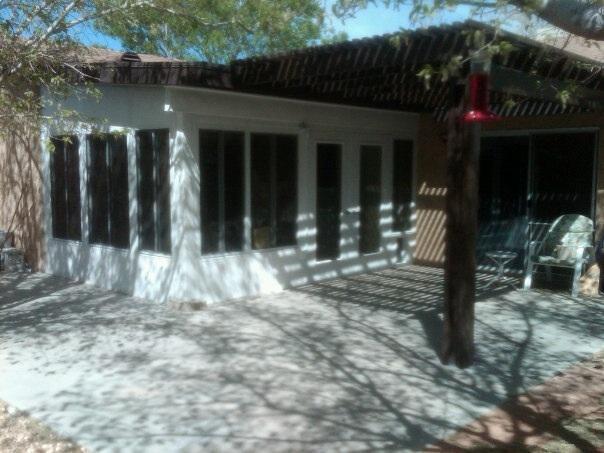 Lapham Construction Lattice Patio Cover In Kernville
