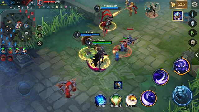 Tips bermain arena of valor