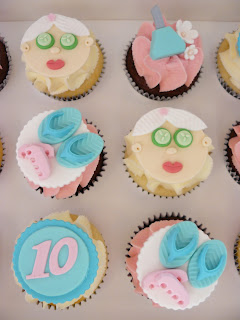 Pamper Cupcakes