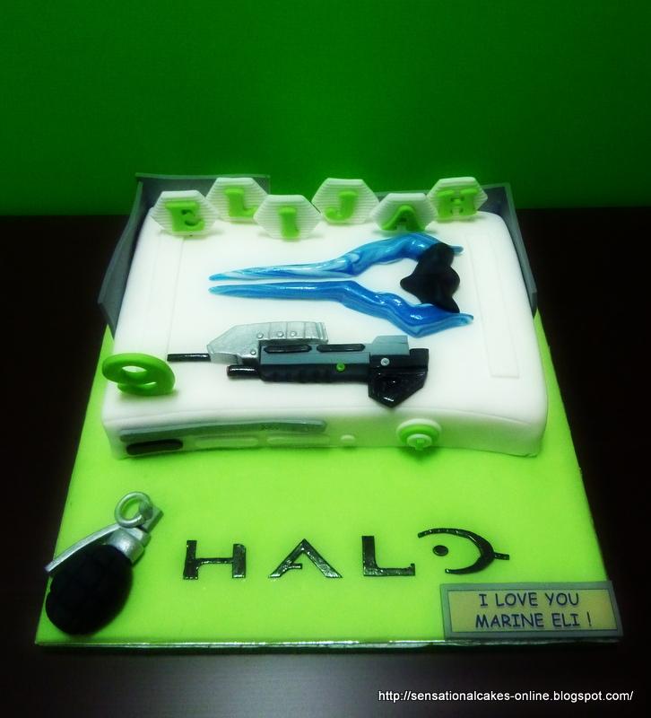 The Sensational Cakes Halo Xbox 360 Console 3d Cake