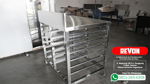 Kitchen Set Stainless Steel Di Jakarta