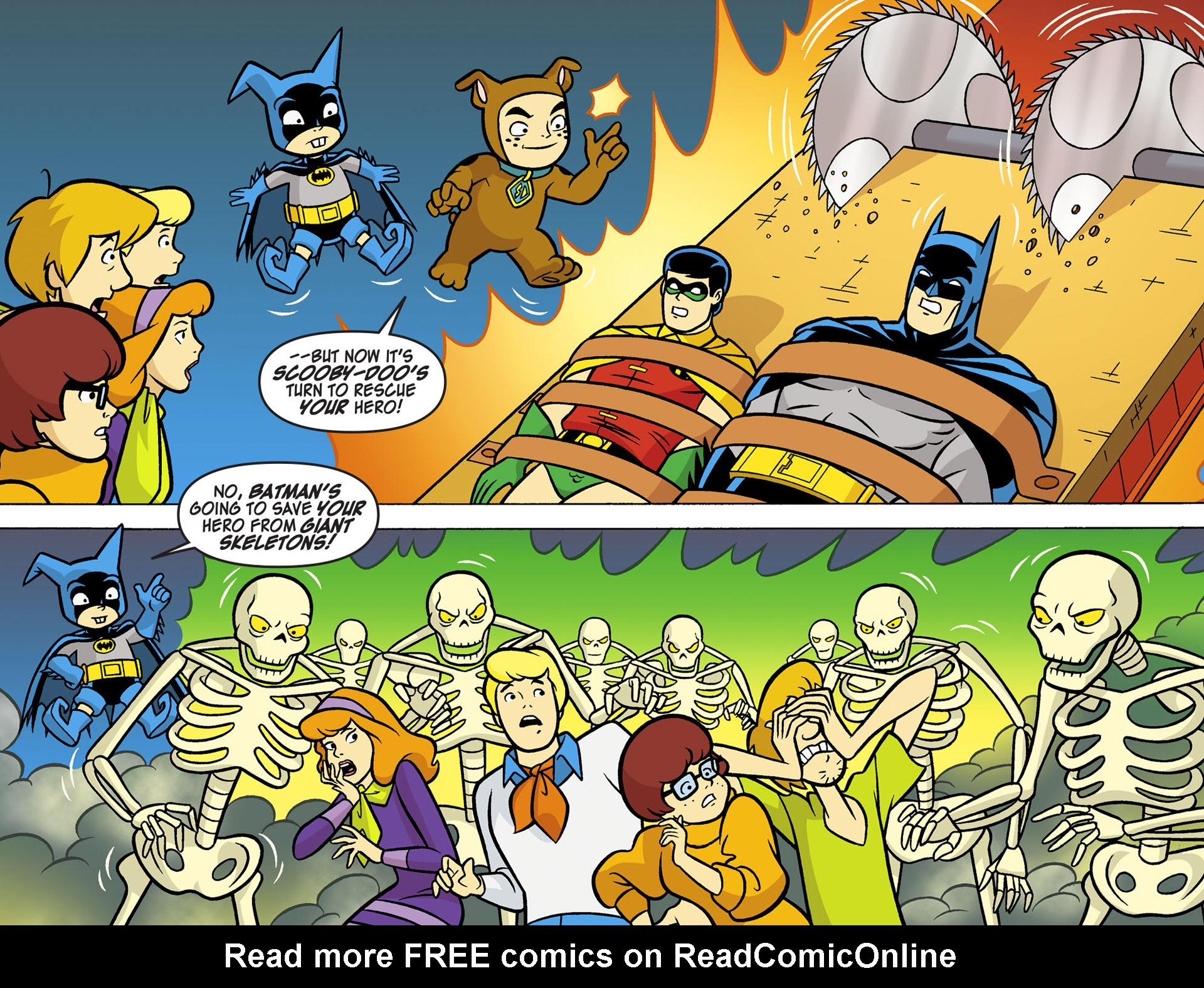 Read online Scooby-Doo! Team-Up comic -  Issue #6 - 13