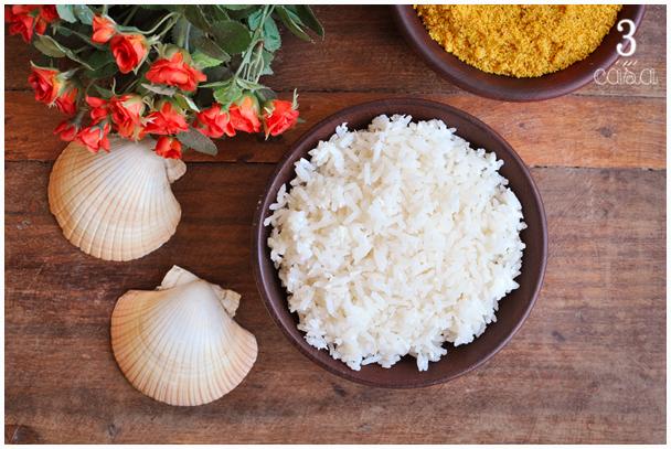 como fazer arroz coco