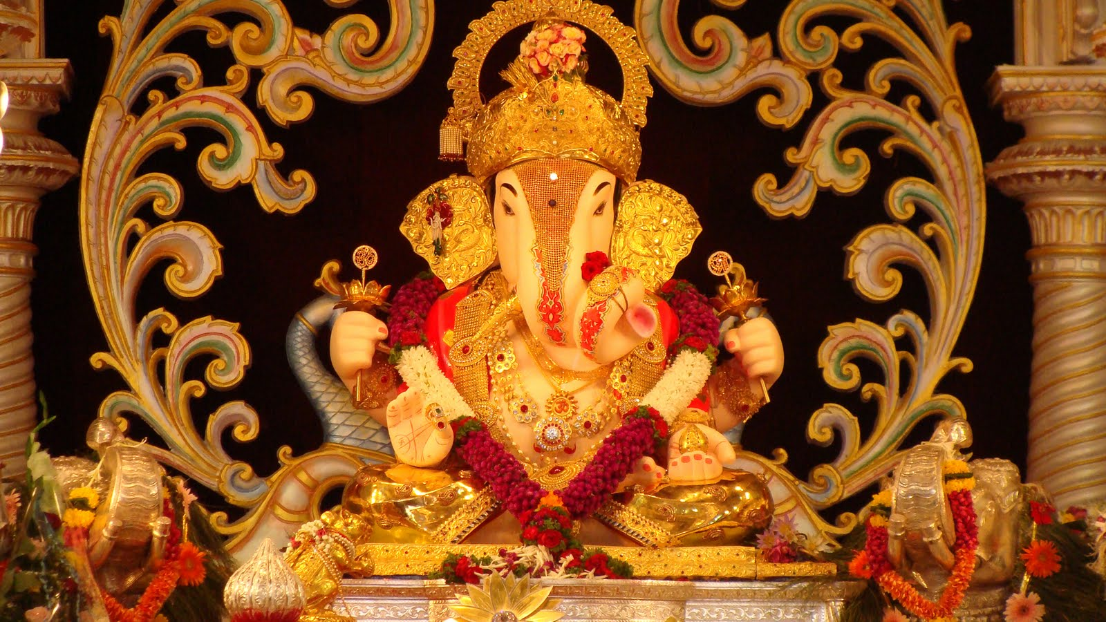 Hd wallpaper ganpati - 9 Best Unseen Hd Wallpapers Free Download Lord Of Ganesha 2017