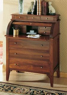 bureau, mueble cajones escritorio, mueble persiana