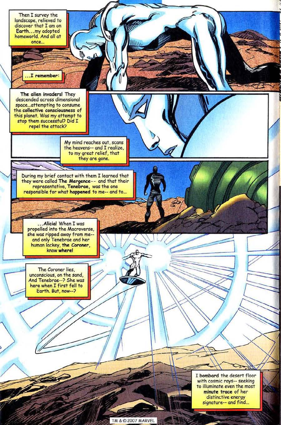 Read online Silver Surfer (1987) comic -  Issue #143 - 6