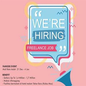 Freelance Job Famode Event di Mall Ratu Indah