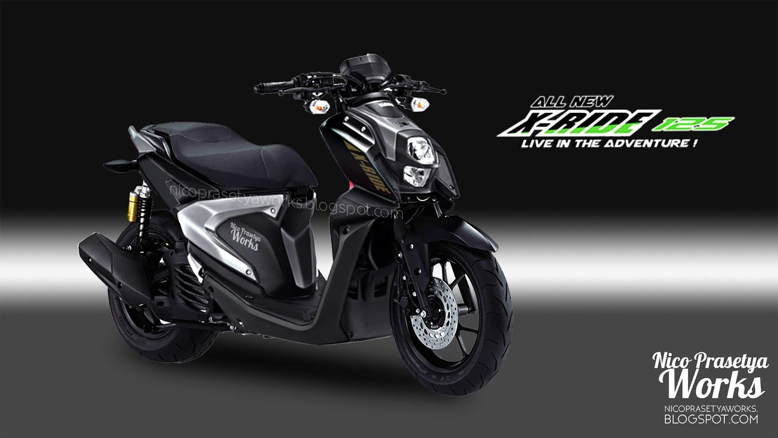 Yamaha X Ride Adventure Black