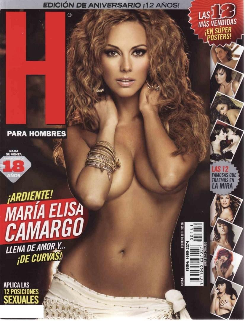 Maria Elisa Camargo Revista H Febrero 2011 [FOTOS]-solorevistah.com