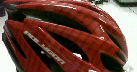 Helm Polygon Vortex Harga: Rp. 150,000, - Serba sepeda