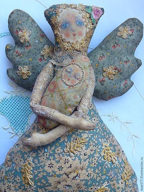 artystyczne szaciane lale