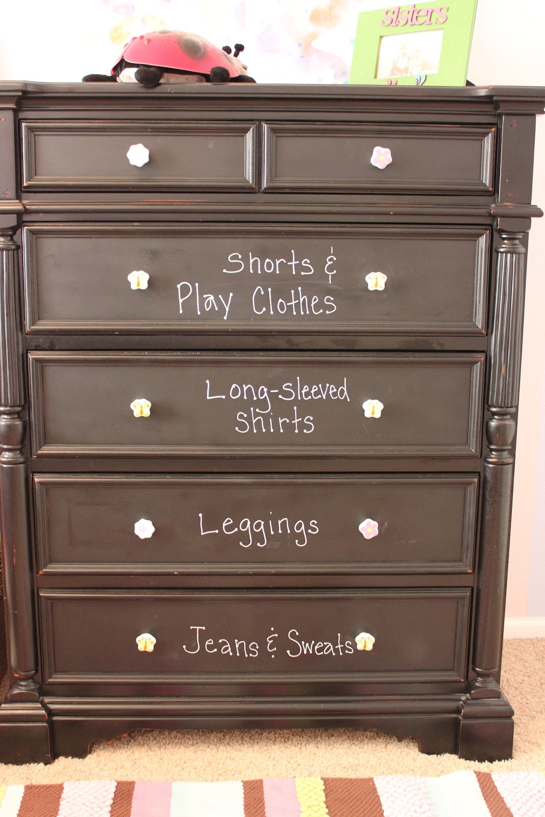 Achieving Creative Order Organizing my Kids Dressers