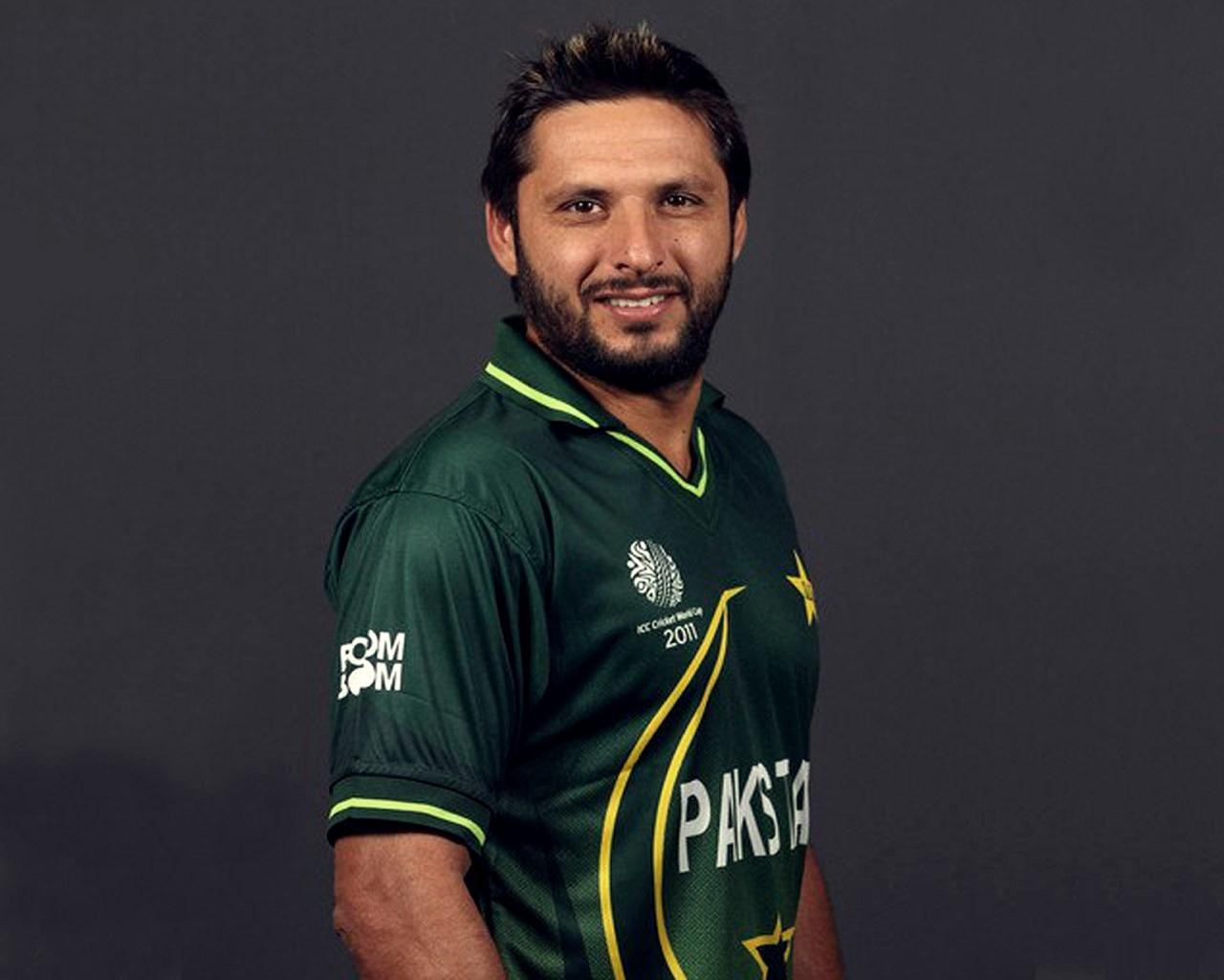 Shahid Afridi HD Wallpapers 2013