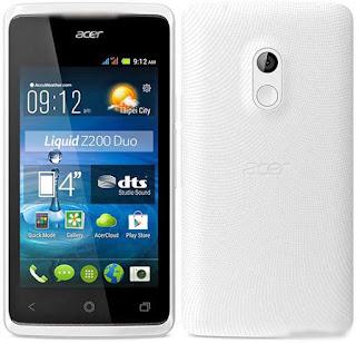 Spesifikasi dan Harga Acer Liquid Z200