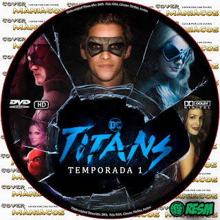 GALLETA 1 TITANS - TITANES - TEMPORADA 1 - 2018 [COVER DVD]