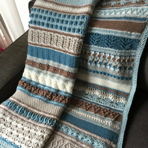 Double Trouble Crochet Blanket - Free Pattern