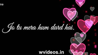 Humdard Ek Villain Whatsapp Status Love Video