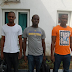 Nigerian Navy hands over three suspects, four vessels to EFCC ...photo