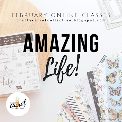 Amazing Life online craft classes - Feb 2019 - The Crafty Carrot Collective