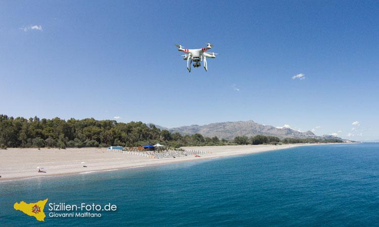Mit der Drohne sicher auf Sizilien fliegen