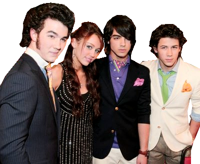 amo a Shane Gray: Miley Cyrus y Jonas Brothers png